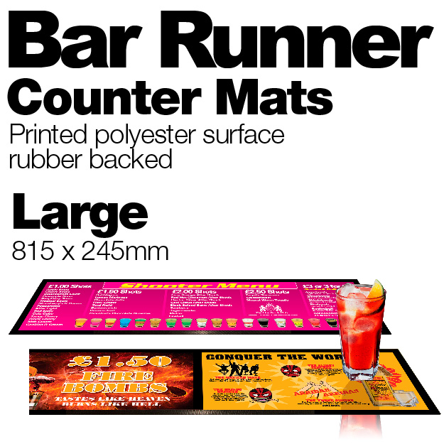 Bar Runner - Personalised