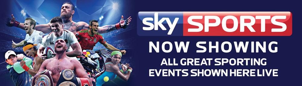 Sky BT Sports PVC Banner