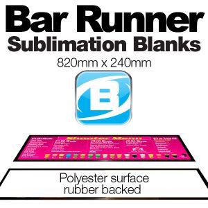 Bar Runner Blanks (820 X 240mm) Large