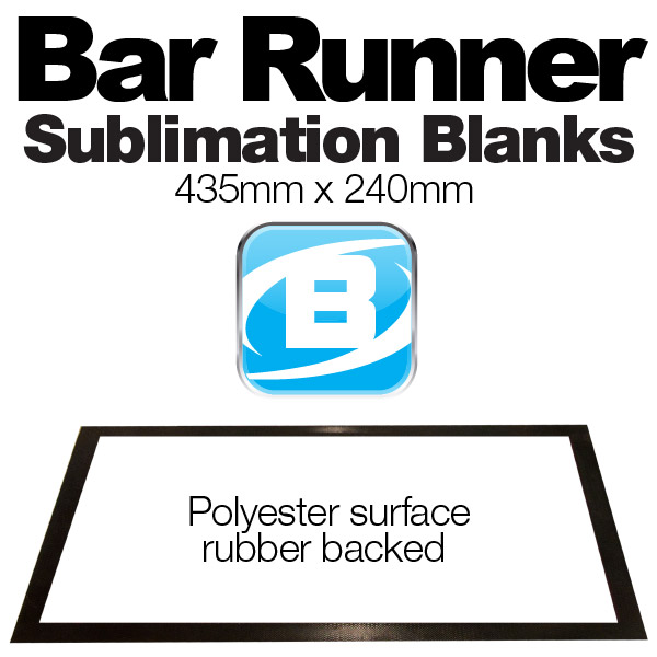 Bar Runner Blanks (435 X 240mm) Small