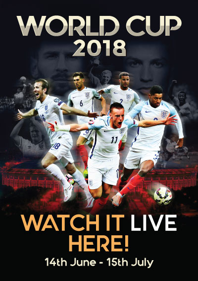 World cup 2018 poster