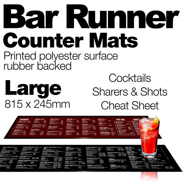 Stonegate Bar Runner Cocktails And Sharers